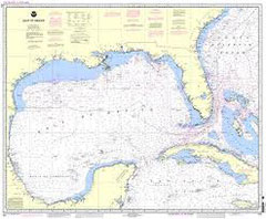 SE US & Gulf of Mexico Nautical Chart
